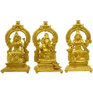 Laxmi Ganesh Saraswati Idol - CII