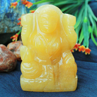 Laxmi in Yellow Jade