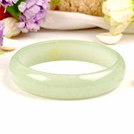 Light Green Jade Bangle - II
