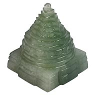 Light Green Jade Shree Yantra - 120 gms