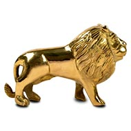 Lion in brass - Small