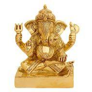 Lord Ganesha in Brass - III