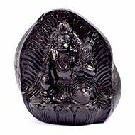 Lord Ram with Hanuman Shaligram Murti - III