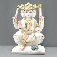 Lord Kartikeya marble idol