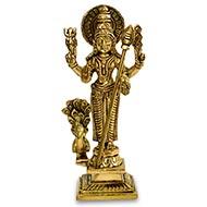 Lord Murugan Brass Idol