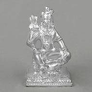Lord Shiva in Pure Silver