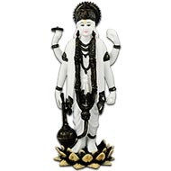 Lord Vishnu in Bonded Marble
