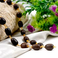 Lotus mala with Punchdathu caps
