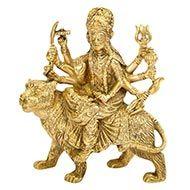 Maa Durga in Brass - I