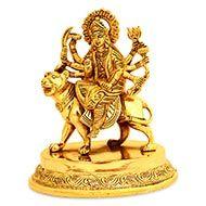 Maa Durga in Brass - II