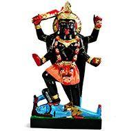 Maa Kaali in black marble idol - III