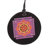 Maha Mrityunjay Yantra locket on Rosewood