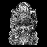 Mahalaxmi crystal  statue - Design II