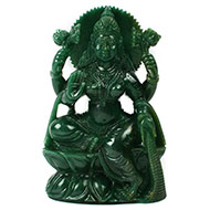 Mahalaxmi in Columbian Green Jade