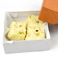 Malai Burfi Peda for Prasad