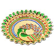 Meenakari Thali