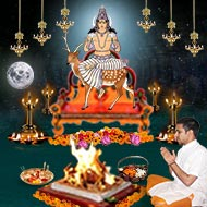 Monthly Chandra Grah Shanti Puja and Homa