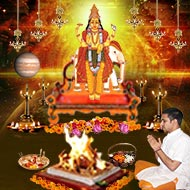 Monthly Guru Grah Shanti Puja and Homa