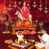 Monthly Mangal Grah Shanti Puja and Homa