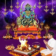 Monthly Rahu Grah Shanti Puja and Homa