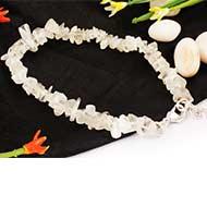 Moonstone Bracelet - Uncut beads