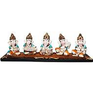 Musical Ganesha - Set of 5