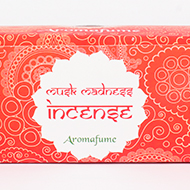 Musk Madness Incense Medium With Exotic Incense Diffuser