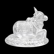 Nandi in Pure Silver - I
