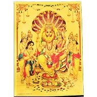 Narsimha Laxmi Photo in Golden Sheet - Large