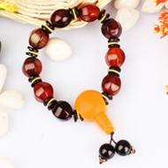 Natural Agate Gemstone Bracelet - Design II