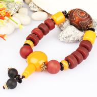 Natural Agate Gemstone Bracelet - Design III