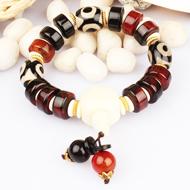Natural Agate Gemstone Bracelet - Design VII