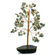 Natural Green Jade Chakra Vastu Tree - Small