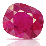 Natural old Burma Ruby - 6.52 carats