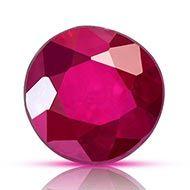 Natural old Burma Ruby - 0.76 carats