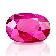 Natural old Burma Ruby - 0.89 carats