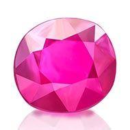 Natural old Burma Ruby - 0.96 carats