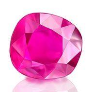 Natural old Burma Ruby - 1 carat
