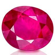 Natural old Burma Ruby - 1.08 carats