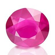 Natural old Burma Ruby - 1.01 carats