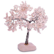 Natural Rose Quartz Chakra Vastu Tree - Big