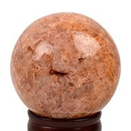 Natural Sunstone Ball - 930 gms
