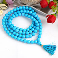 Natural Turquoise    Mala