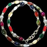 Navratna Choker Bracelet - Design II