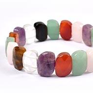 Navratna Gemstone Faceted Bracelet - I