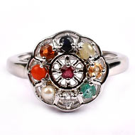 Navratna Ring - Female - Design I
