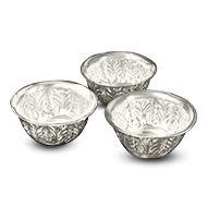 Offerings Bowls in German Silver - Set of 3