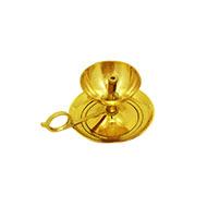 Oil lamp in brass