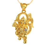 OM Ganesh Pendant in Gold - 5 gms