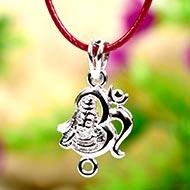 Om Shiva Locket in Pure Silver